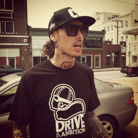 Drive & Ambition Logo T-Shirt Black