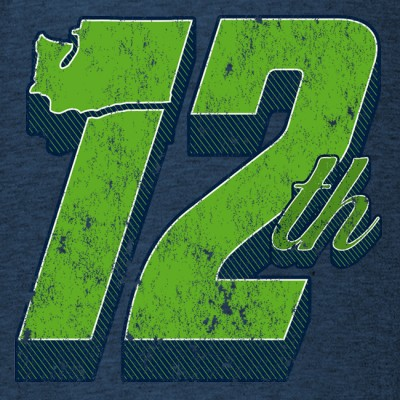 Seattle Seahawks 12th Man Design 650x650
