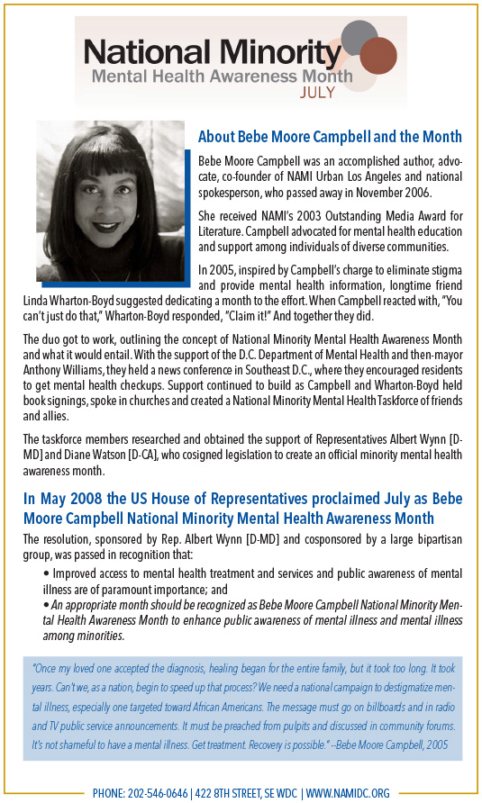 National Alliance on Mental Illness 4-page Town Hall Meeting Program 5.5x8.5in 2 - 535x893