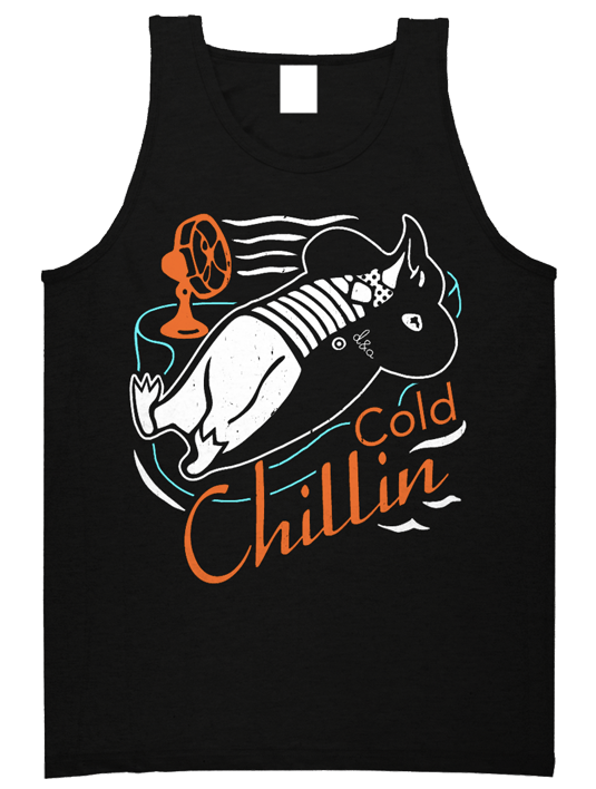 Drive & Ambition Cold Chillin Tank Top black 535x708