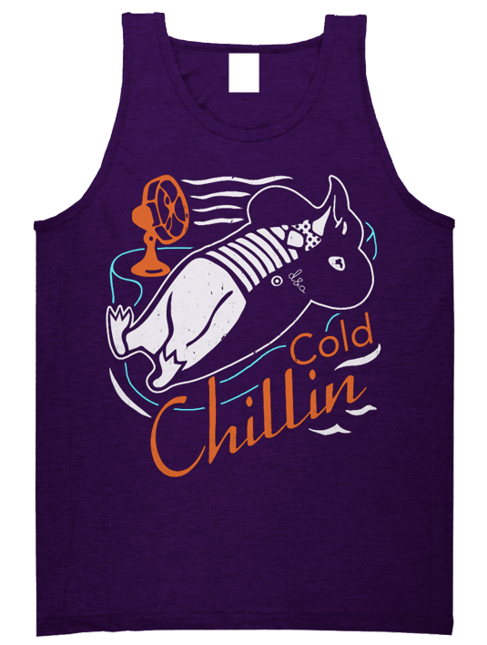Drive & Ambition Cold Chillin Tank Top purple 535x708