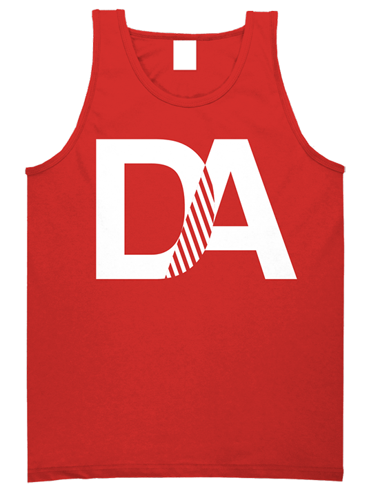 Drive & Ambition DA Tanktop red white 535x463