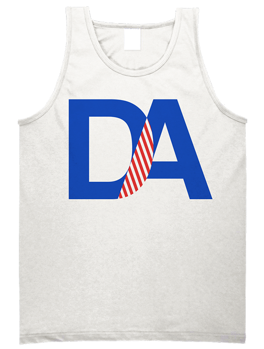 Drive & Ambition DA Tanktop blue red white 535x463