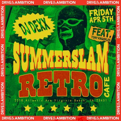drive and ambition SummerSlam event flyer 600x600