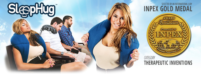 The SleepHug Pillow Facebook Cover Image models 700x259