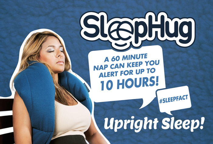 SleepHug Pillow 4x6 Promotional Flyer Front 700x474