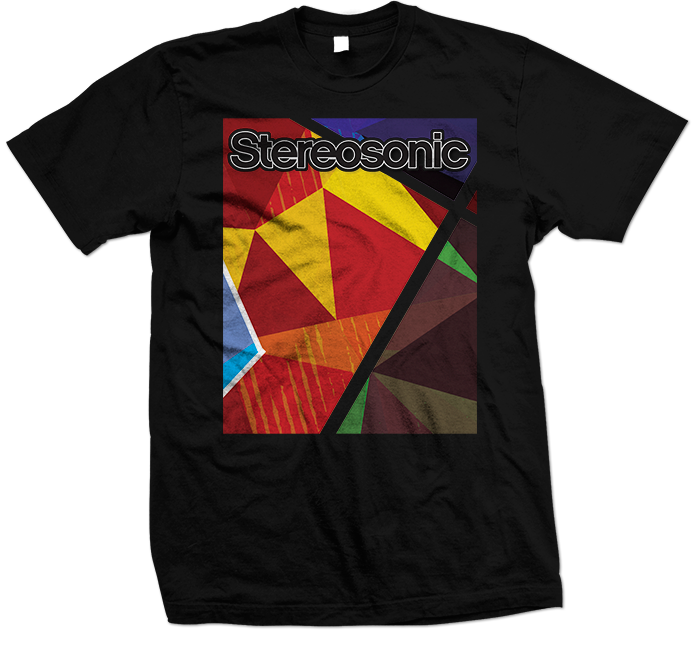 Stereosonic Sound Wall T-Shirt Black 695x645