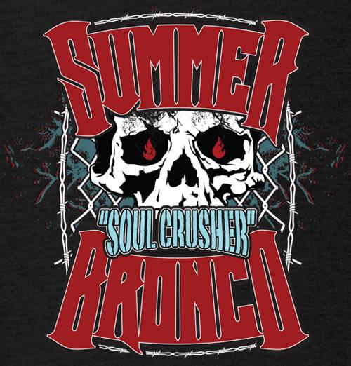 Summer Bronco Muay-Thai MMA Female Fighter T-shirt 500x522