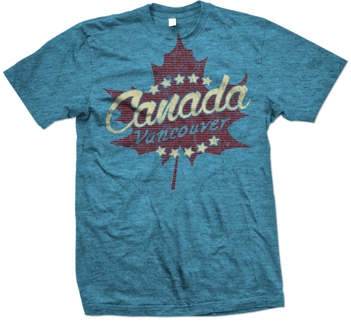vancouver,canada canadian novelty t-shirt blue 695x645