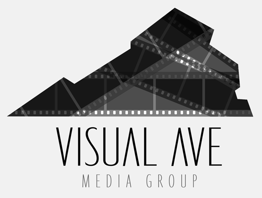 Visual Ave Media Group Logo Design