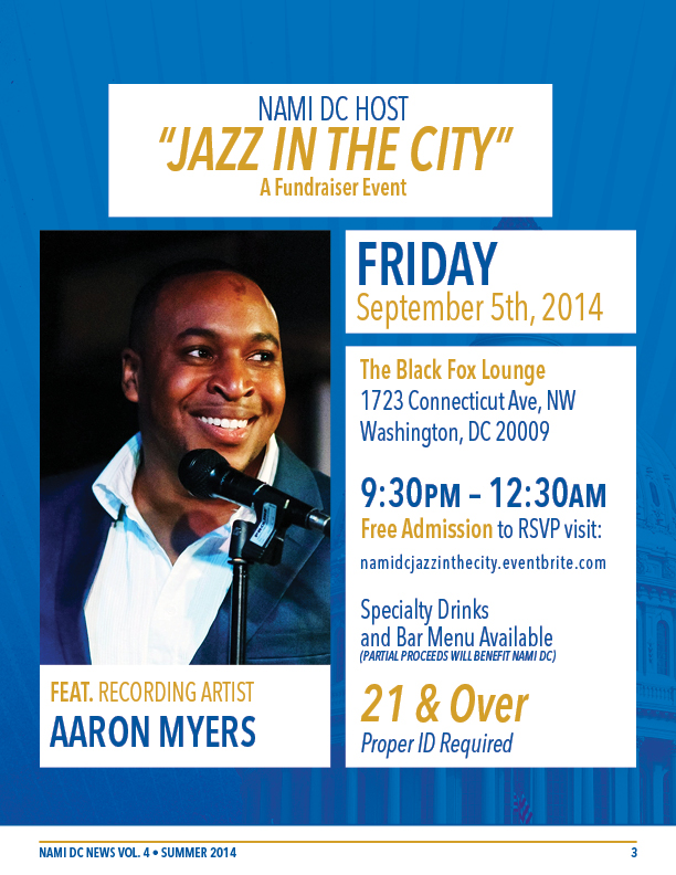 nami dc newsletter summer 2014 vol 4 8 pages 3 jazz in the city aaron myers 612x792