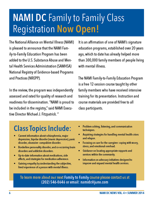 nami dc newsletter summer 2014 vol 4 8 pages 6 family class registration 612x792