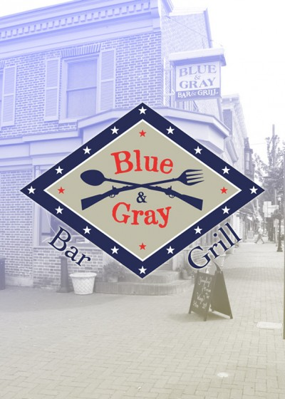 Blue & Grey Bar and Grill Logo 595x834