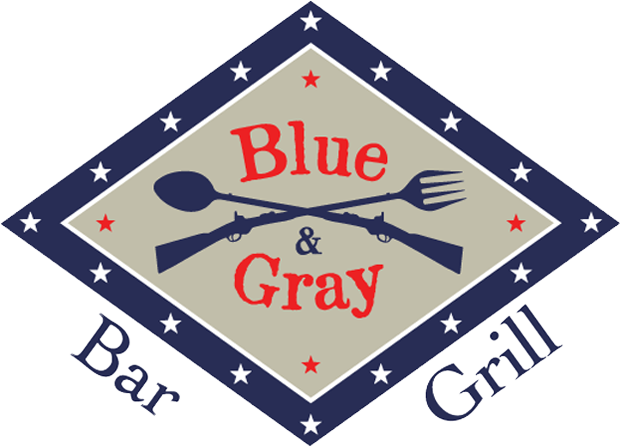 Blue & Grey Bar and Grill Logo 620x447