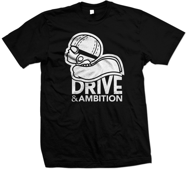 Drive & Ambition Logo T-Shirt 600x557 Black