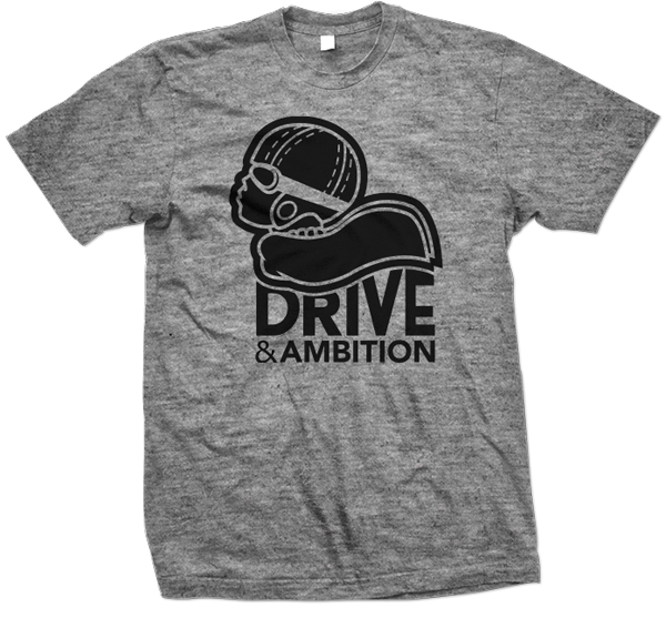 Drive & Ambition Logo T-Shirt 600x557 Grey