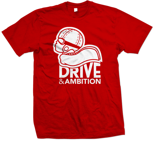 Drive & Ambition Logo T-Shirt 600x557 Red