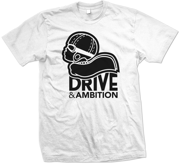 drive-and-ambition-logo-white-t-shirt-600x557
