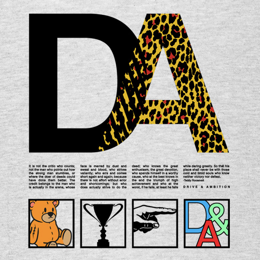 Drive & Ambition The Roosevelt T-Shirt 535x535