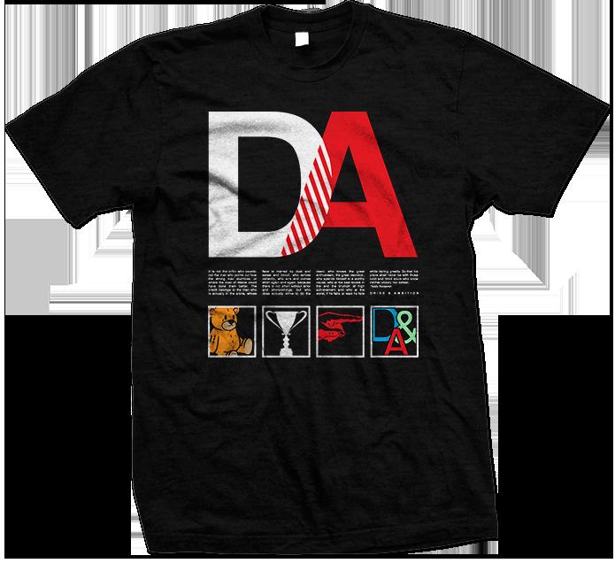 Drive & Ambition The Roosevelt T-Shirt Black 695x645