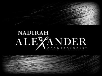 Nadirah Alexander Cosmetologist Logo Hair 640x480