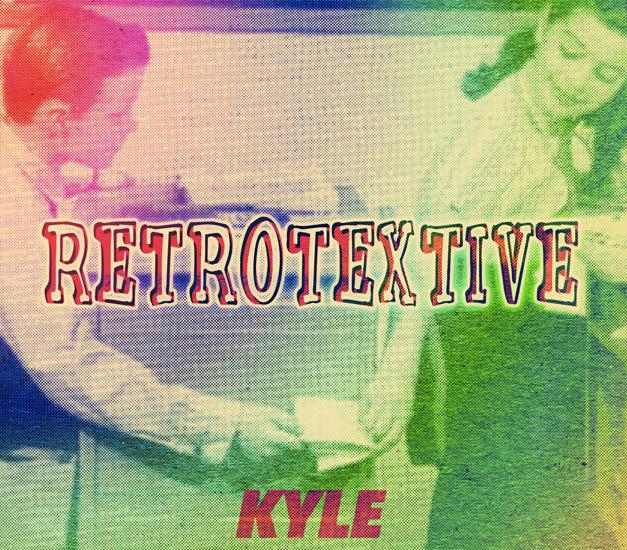 KYLE Retrotextive album cover hippie minimalist vintage retro 627x550