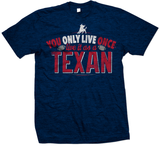 YOLO you only live once houston texans tshirt design 539x500