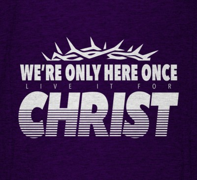 Live It For Christ Bold T-shirt Design 654x600