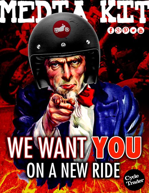 cycle trader media kit  cover uncle sam motorcycle bike biker 506x650
