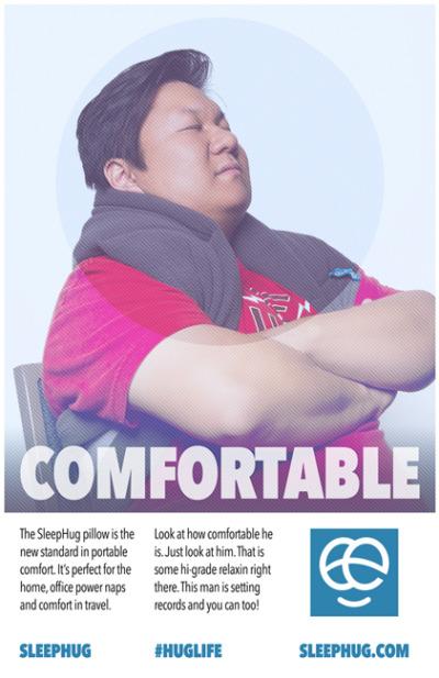 sleephug comfortable swiss style poster 421x650