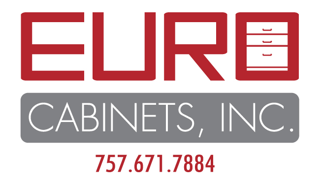 Euro Cabinets Logo Design 650x370