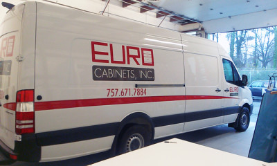 Euro Cabinets Logo Truck Design 650x390