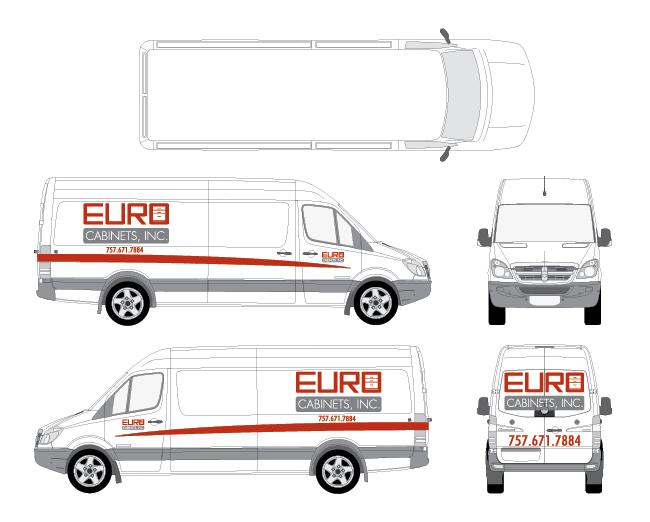 Euro Cabinets Logo Truck Design 650x522