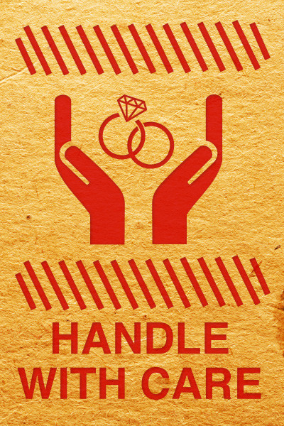 handle with care andy thompson promo tshirt design 400x600