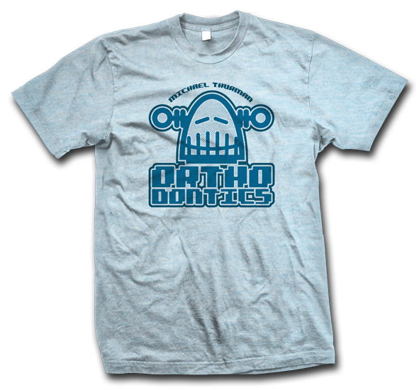 michael thurman orthodontics tshirt 591x550