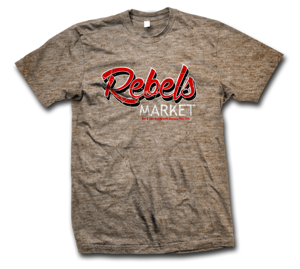 rebels market t-shirt-600x538 tan
