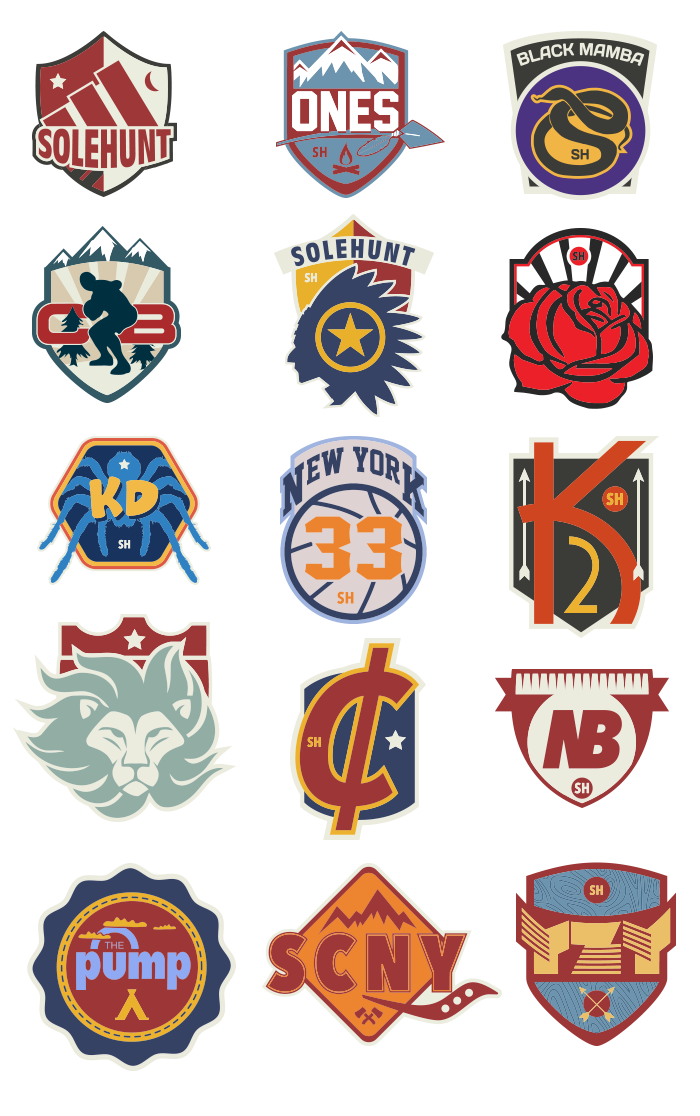 sole hunt brand icons 700x1116