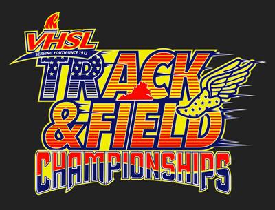 VHSL Track Field Championships tshirt design 400x305