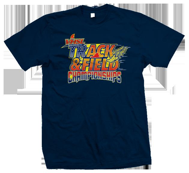 VHSL Track Field Championships tshirt design 630x577