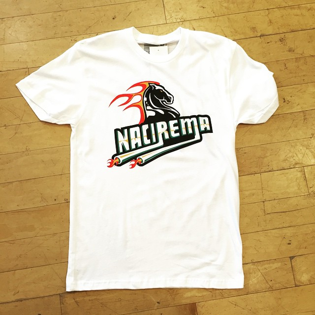 Nacirema Boutique Pro Series - Pistons Logo Flip